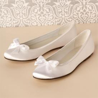 Pretty Ribbon Decoration Bridal Flats Shoes