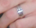 mens wedding ring wearing