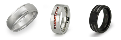 Titanium Wedding Rings for Men 1