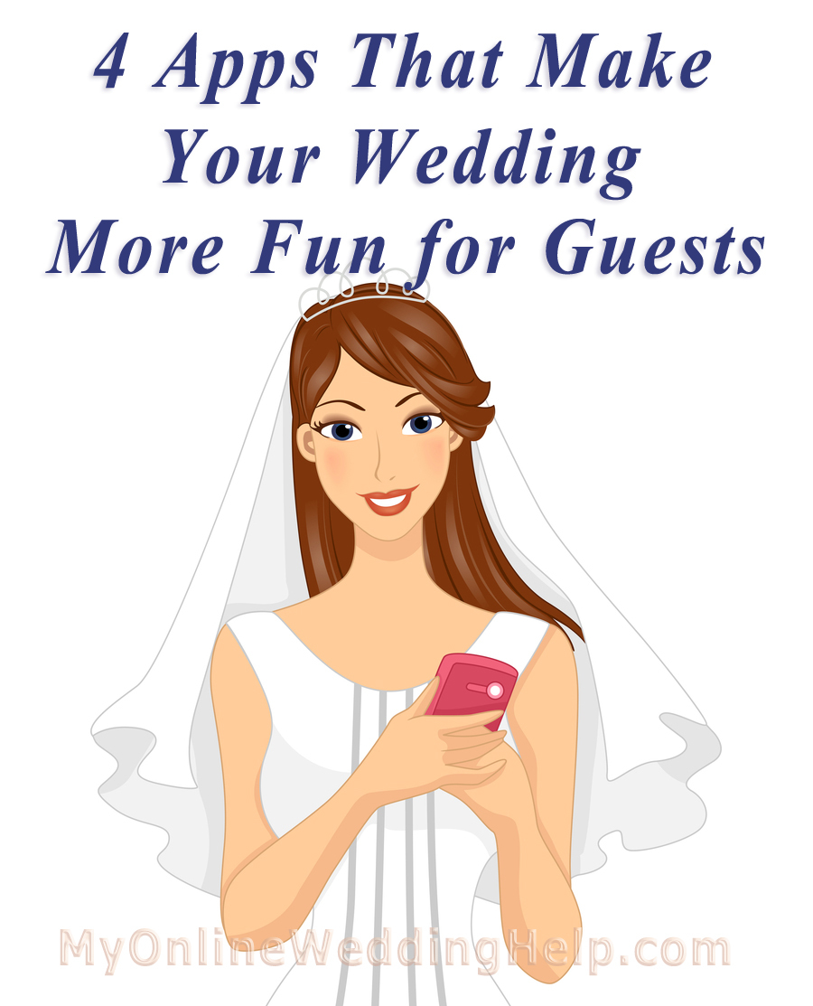 Wedding apps to make your events more fun for guests.