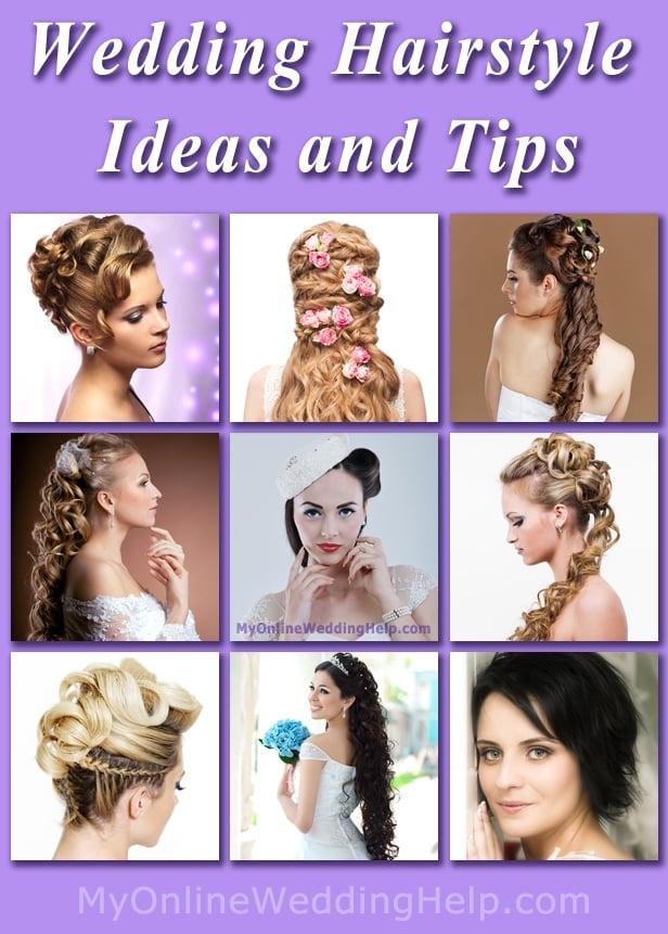 Wedding Hairstyle Ideas | MyOnlineWeddingHelp.com