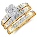 Different Types of Engagement Ring and Wedding Band Sets #ww 5