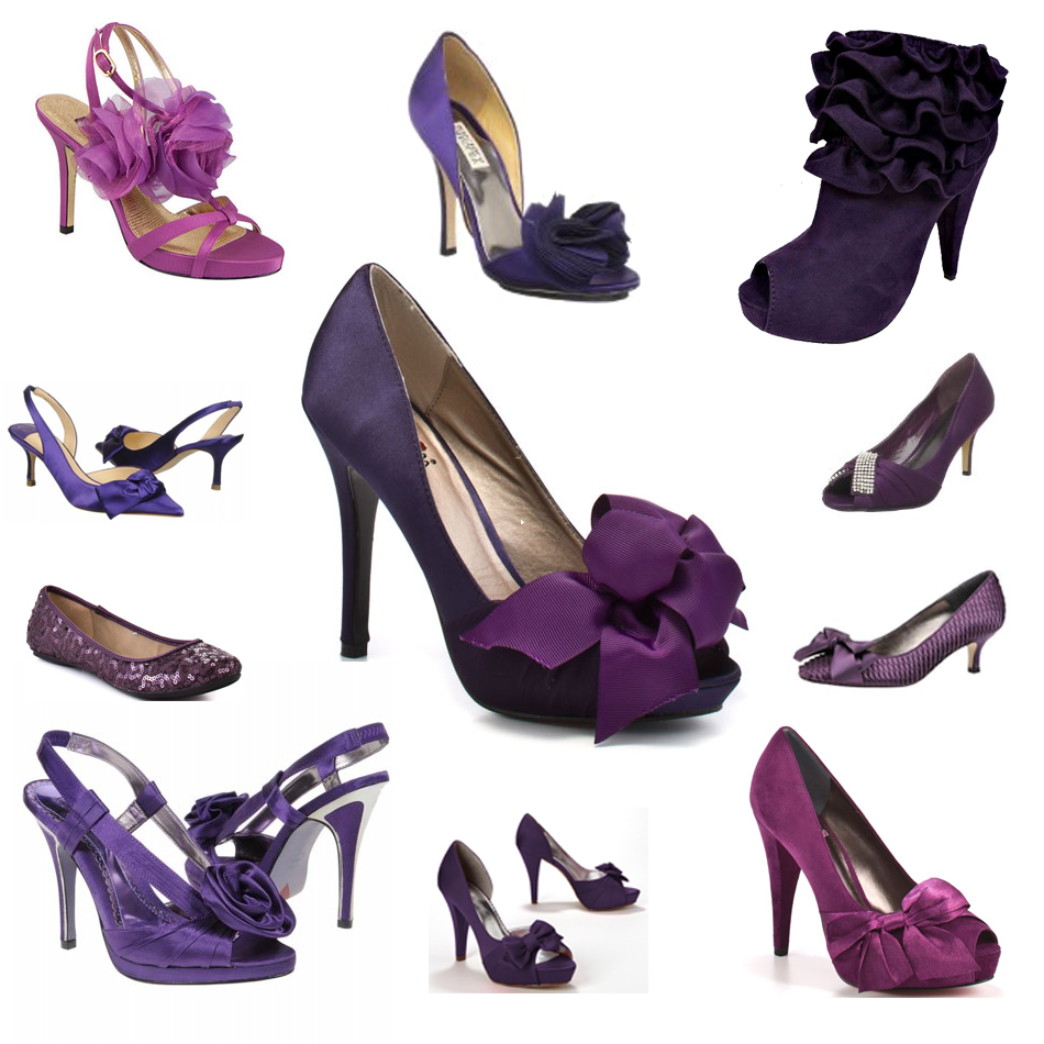 Purple shoes - How to wear purple shoes