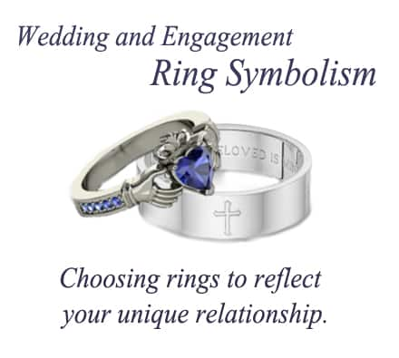 Wedding and Engagement Ring Symbolism. Choosing the Perfect Rings. 1
