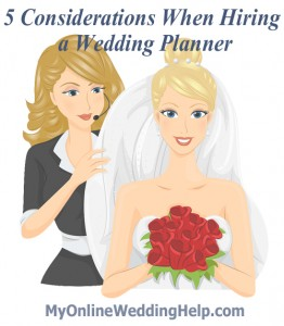 Tips for choosing a wedding planner
