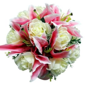 Lily rose bouquet, discount