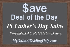 18 Father's Day Sales--Deals of the Day 1