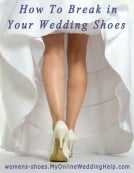 How to Break in Wedding Shoes