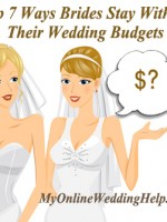 7 Ways to Save Money on Wedding