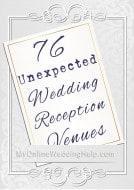 76 Unique Non-Traditional Wedding Venue Ideas 1