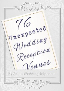 76 Unique Non-Traditional Wedding Venue Ideas 1