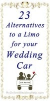 23 Wedding Getaway Car Ideas