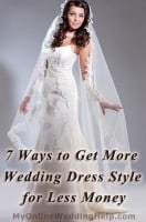 7 Ways to Get More Wedding Dress Style for Less  Money