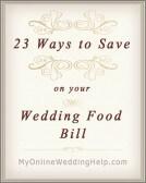 23 Wedding Food Ideas on a Budget. Chop Costs! 3
