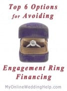 Top Six Options for Avoiding Engagement Ring Financing