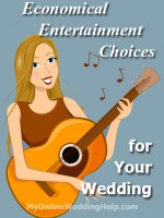 Wedding Entertainment: Planning for Inexpensive Music | #MyOnlineWeddingHelp