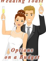 Wedding toast--ideas for having a formal toast while also saving on champagne. #myonlineweddinghelp