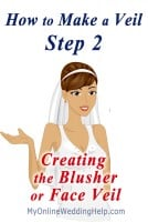 How to Make a Wedding Veil with Comb. 5 Steps! 25