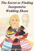 The Secret to Finding Inexpensive Wedding Shoes