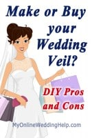 Your Veil: Do it Yourself (DIY) or Buy?