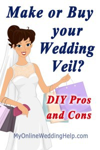 How to Make a Wedding Veil with Comb. 5 Steps! 26