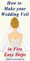 How to Make a Wedding Veil; Video and Written Instructions