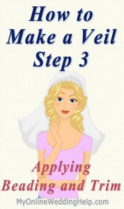 How to Make a Wedding Veil with Comb. 5 Steps! 17