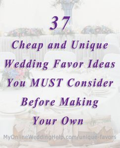 37 Cheap and Unique Wedding Favor Ideas for Guests 1