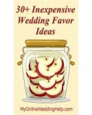30+ Inexpensive Wedding Favor Ideas