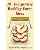 30+ Inexpensive Wedding Favor Ideas