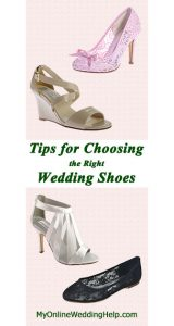 Tips for Choosing Wedding Shoes 1