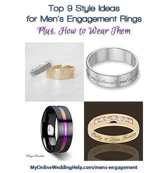 Wedding Rings For Less 74 Stunning Engagement Rings for Men