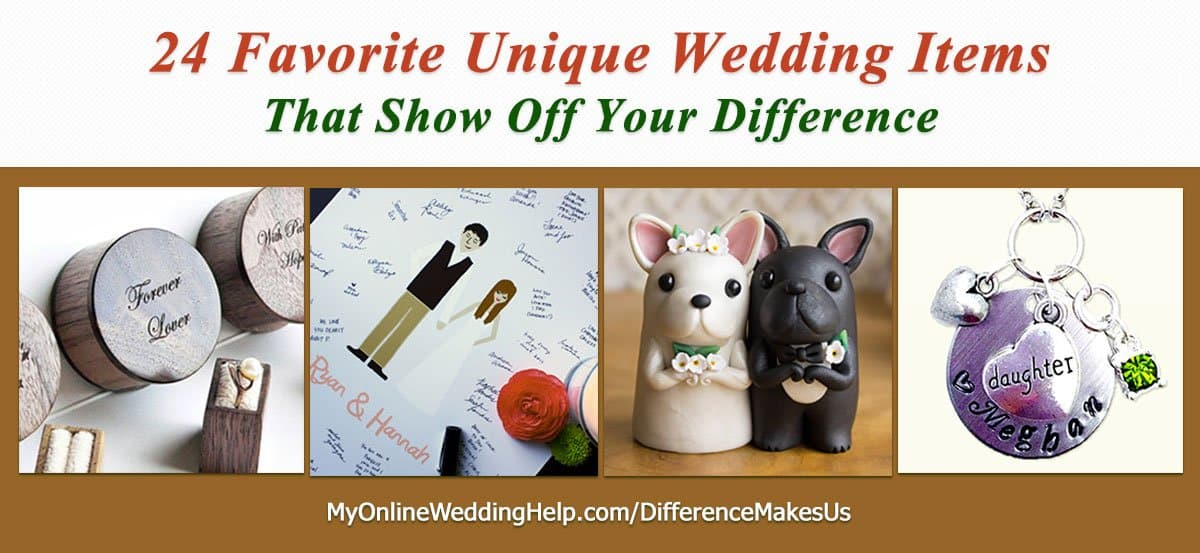 Cool Wedding Gifts Online : 24 Favorite Unique Wedding Items #DifferenceMakesUs