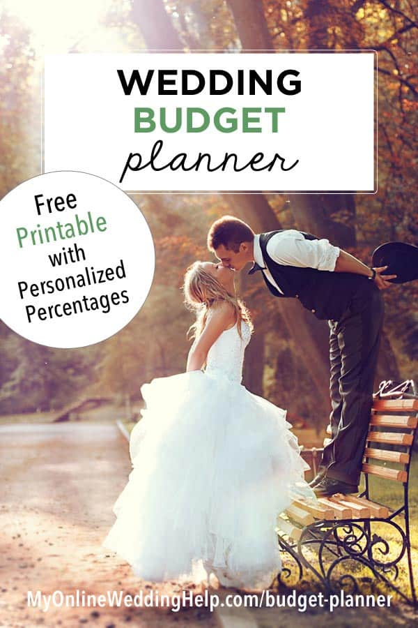 Wedding Budget Planner Free Printable With Personalized