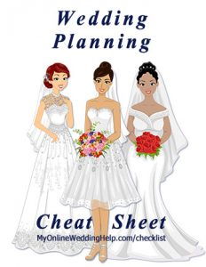 "Wedding Planning ""Cheat Sheet"" 2"