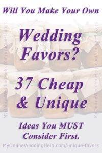 37 Non-Traditional Wedding Favor Ideas You'll Adore 3