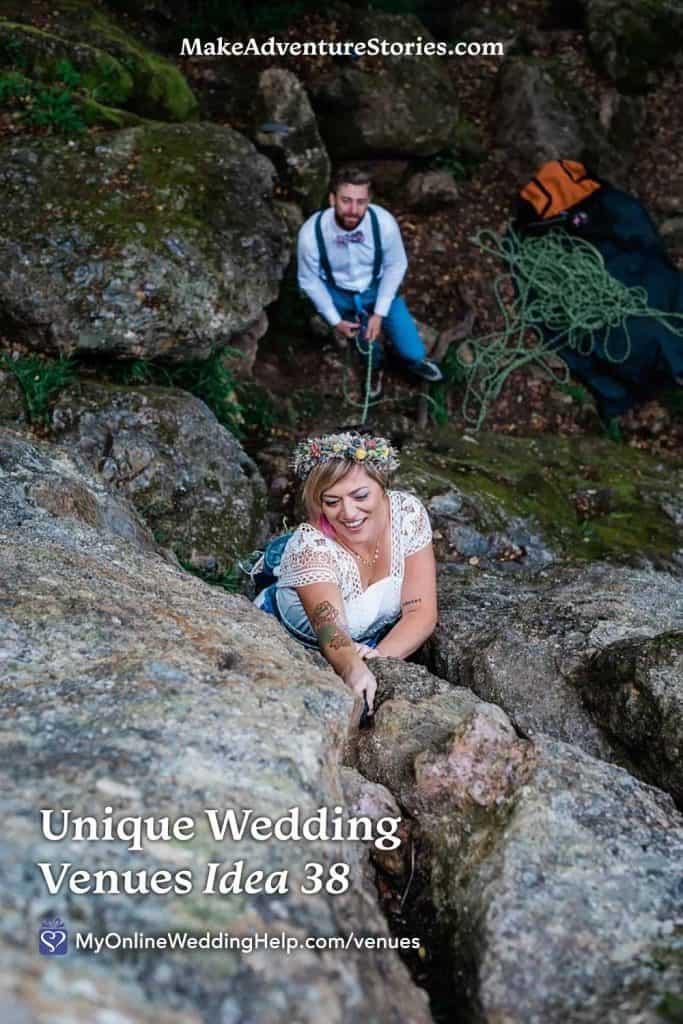 Unique Non-Traditional Wedding Venue Idea #38 - the Mountains
